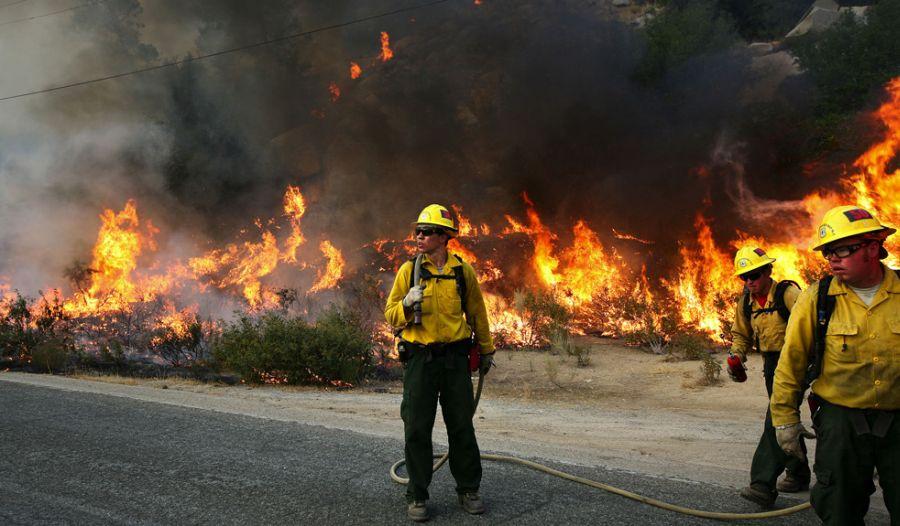 Пожары в США в штате Калифор…