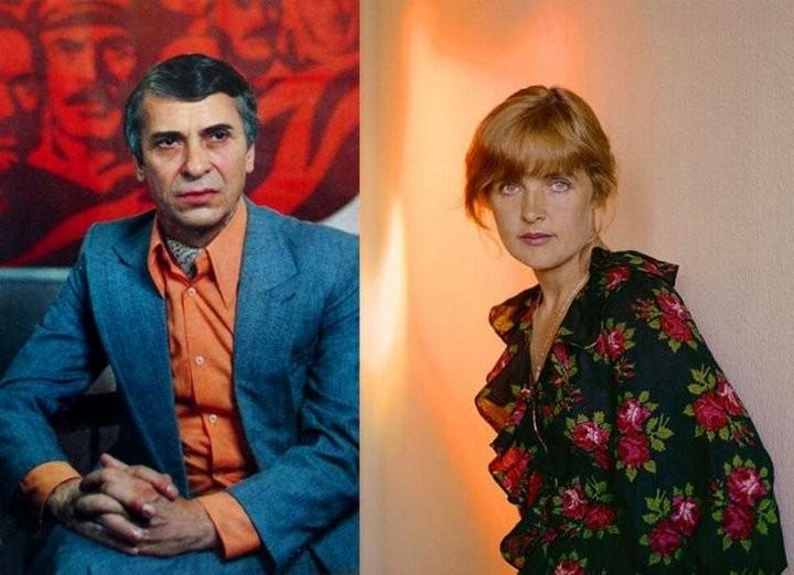 Ада Роговцева и Константин Степанков СССР, знаменитости, кино, супружеские пары, факты