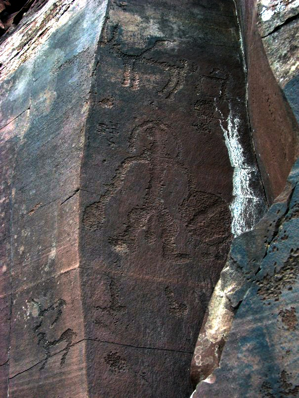 петроглифы сибири