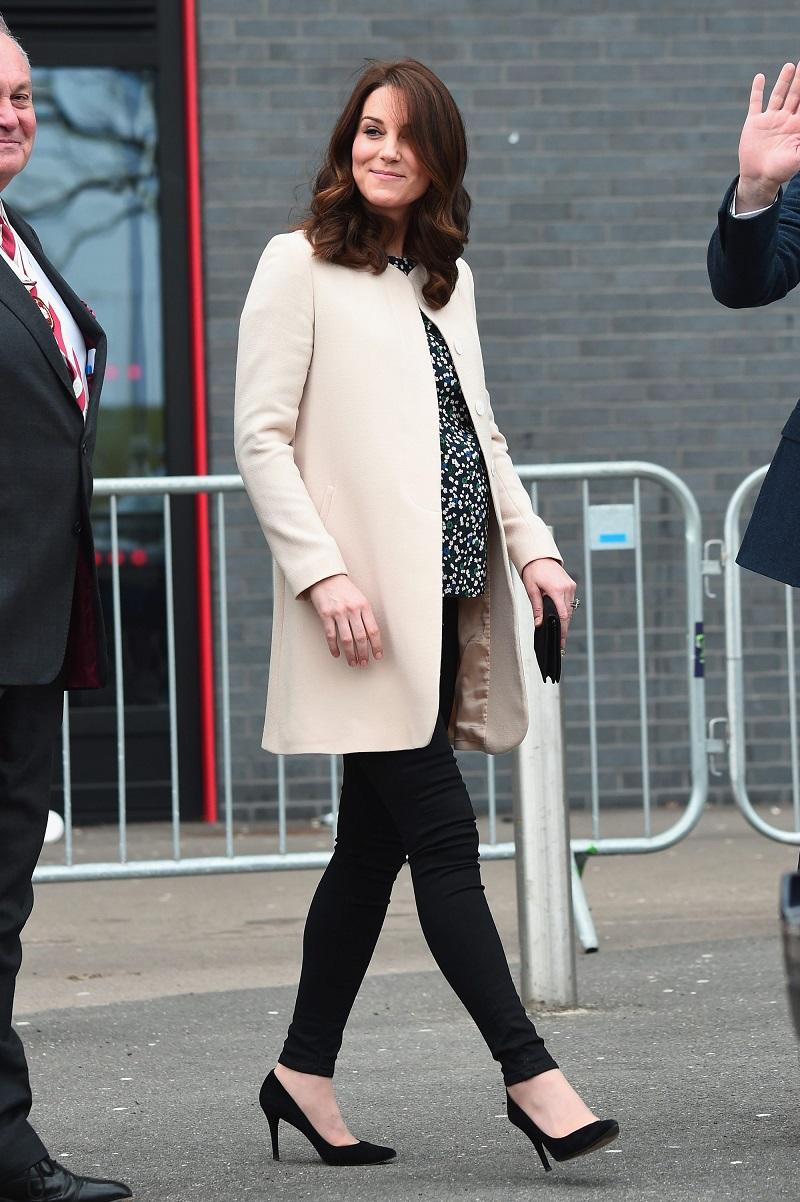 кейт миддлтон в пальто