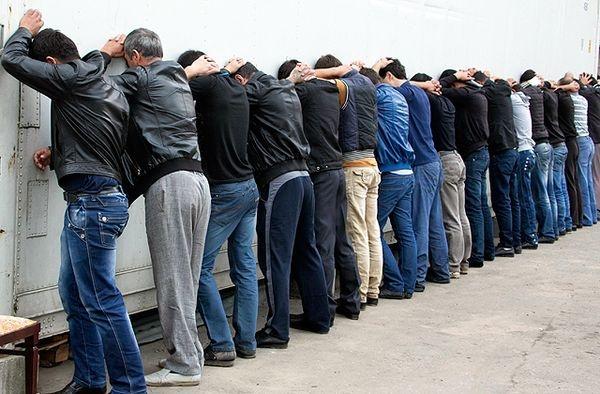 Полиция пресекла массовую драку мигрантов вМоскве: задержаны 100 человек