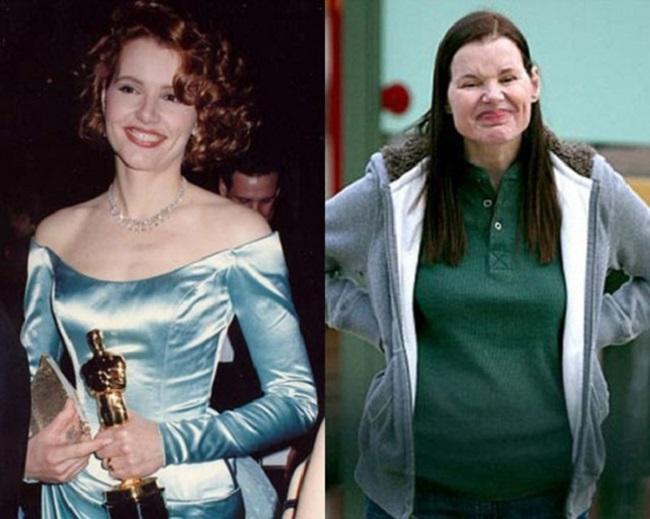 Время беспощадно к красоте: знаменитости какими были и какими стали