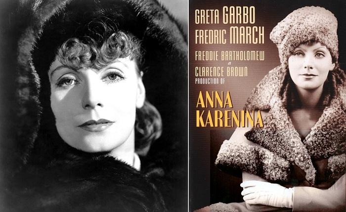 Грета Гарбо (Greta Garbo) в роли Анны Карениной (1935).