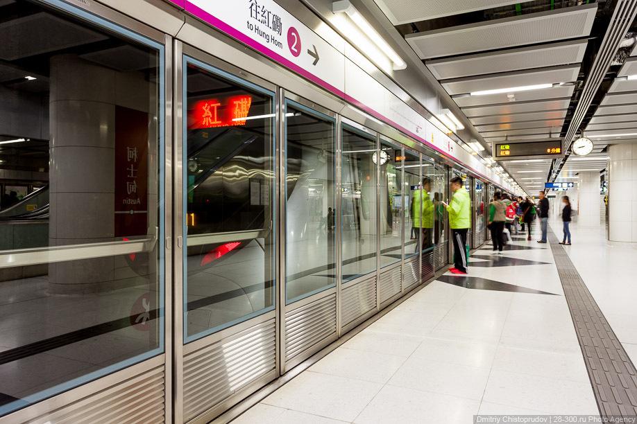Метрополитен в Гонконге