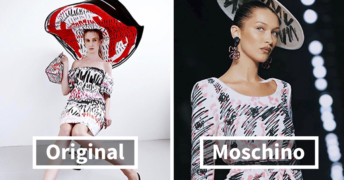 Young Designer Accuses Moschino Of Stealing Her Work And The Photos She Posted Speak For Themselves