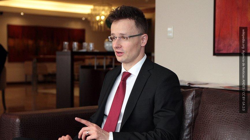 В МИД Венгрии заявили, что Будапешт продолжит блокировать заседания комиссии Украина — НАТО