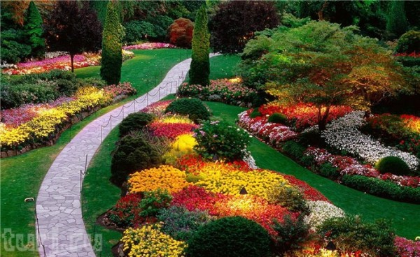 Сады Будхарт -  волшебство здесь не заканчивается никогда.
