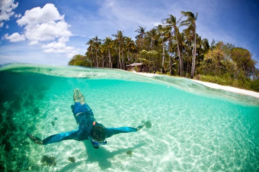 Пустынные пляжи с прозрачной водой