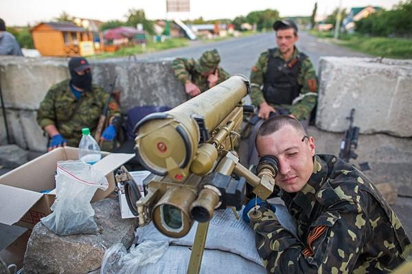 Ополченцы отбили попытку украинских силовиков прорваться в Луганск