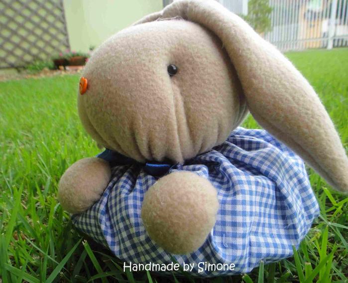 Текстильный кролик - упаковк…