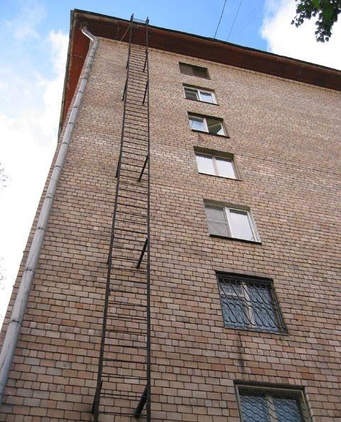 Альтернатива пожарной лестни…