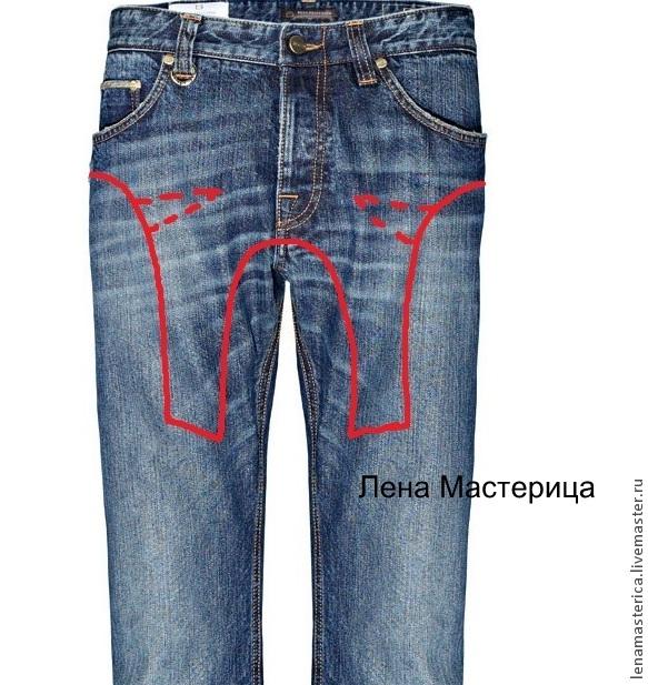 Что можно пошить из старых джинсов своими