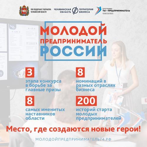 В Челябинске принимают заявки на конкурс «Молодой предприниматель России»