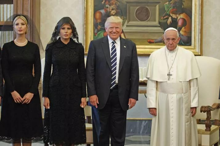 Визит Дональда Трампа в Ватикан