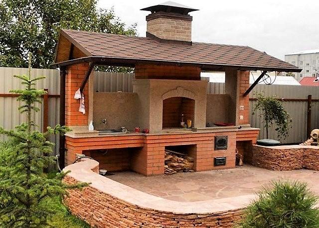 Обустройство зоны барбекю на даче: решения и нюансы строительства