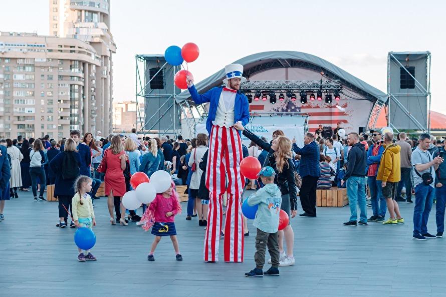 День независимости США в Ека…