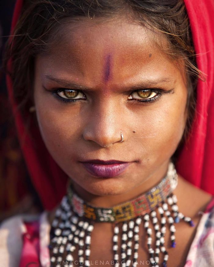51 Powerful Portraits Of Everyday Indian People By Polish Photographer Magdalena Bagrianow