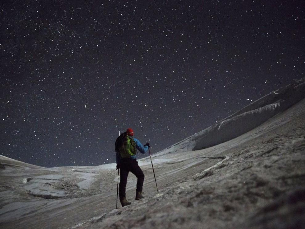 Восхождение на гору Казбек в фотографиях