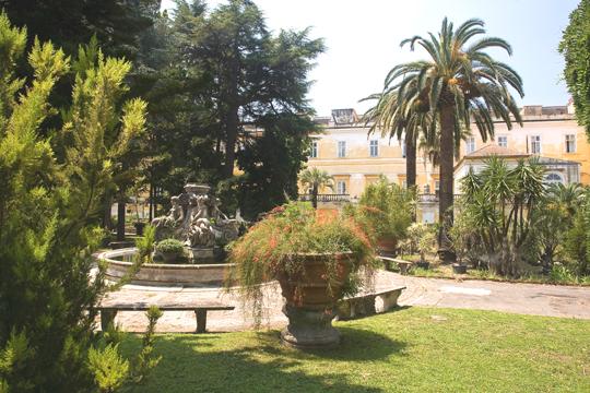 Неаполь дышит своим ботаническим садом