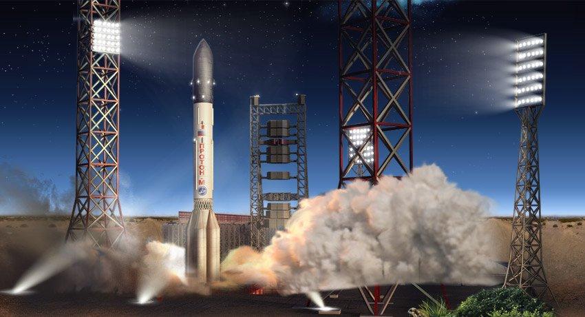 Ракеты-носители «Протон-М» успешно выполняют зарубежные заказы: следующий запуск состоится в марте