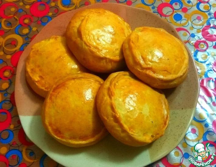 Рецепт: Татарские пироги Элеш