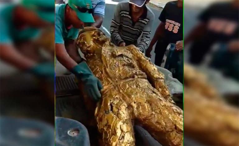 В Бразилии после победы Болсонару снесли памятник Ч Геваре