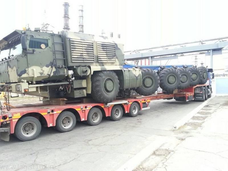 Шойгу: Минобороны подпишет контракт на новый КамАЗ-7950 для ПГРК