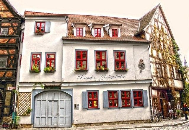 Эрфурт - город, где оживает Средневековье