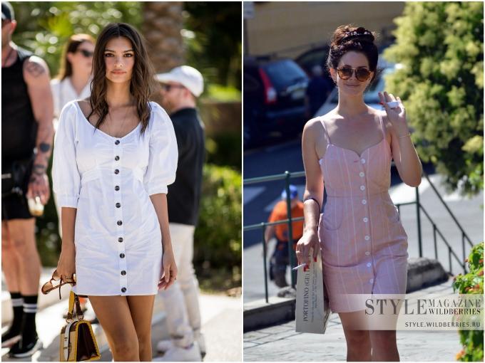 «Ретро-штрих»: Платье на пуговицах!