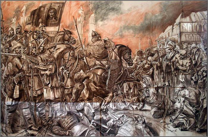 2 октября 1552 г. 460 лет назад Взятие Казани войсками Ивана Грозного, в результате чего Казанское ханство было присоединено к России