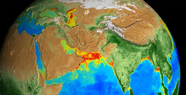Климатические изменения на Земле за последние 20 лет показали на видео