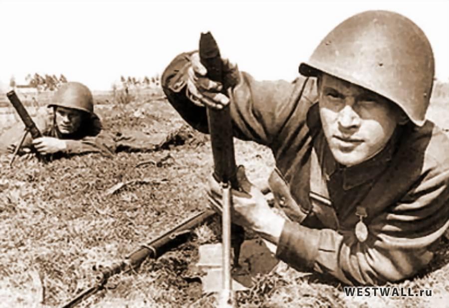 У русских даже лопаты стреляют