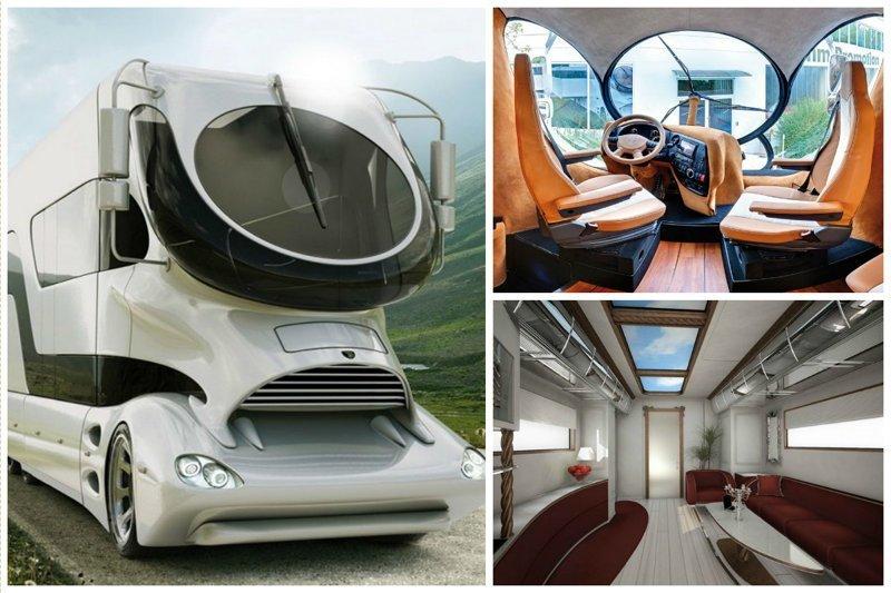 А вот и ответ. Пока что самый дорогой дом... Marchi Mobile EleMMent Palazzo, модель 2015 года за 3 000 000 долларов автомир, дома на колесах, красота, удобство, чудеса