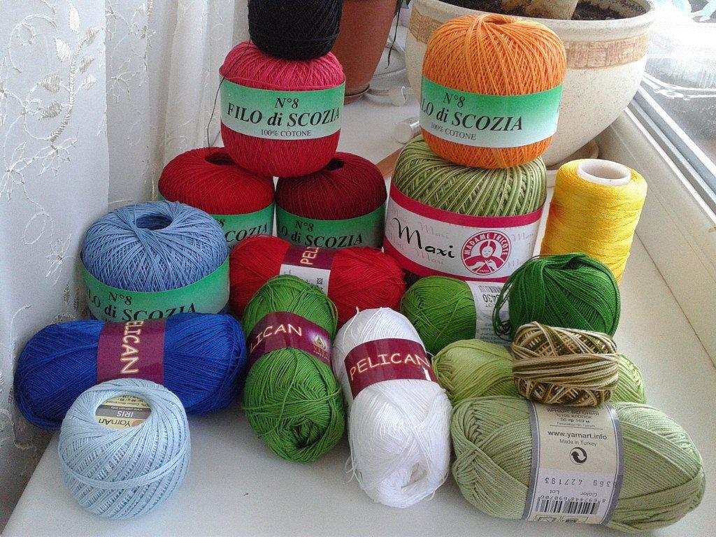 Какие нитки нужны для вязания ирландского кружева