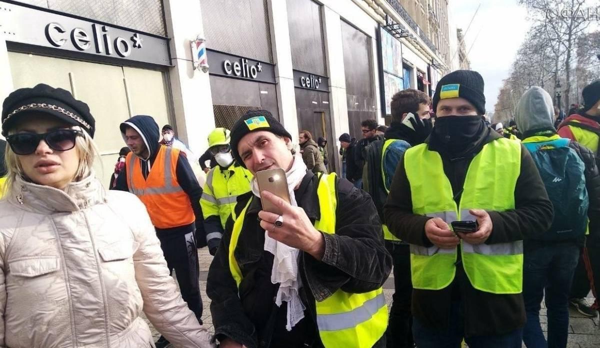 Протесты в Париже и госперев…