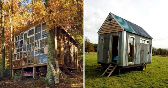 5 крошечных жилых домов, которые умудрились построить за сущие копейки