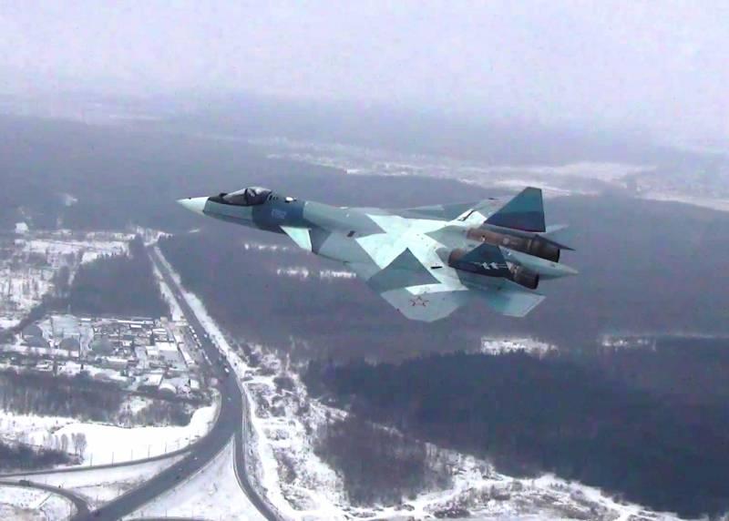В 2018 году ВКС начнут освоение новейшего Су-57