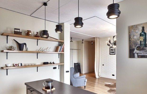 Квартира для девушки: стильный интерьер в Ивантеевке