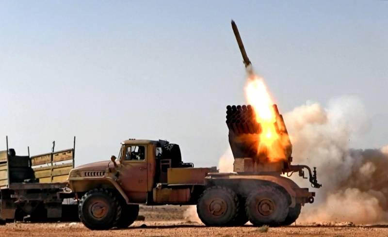 Сирийцы накрыли градом снарядов боевиков в Идлибе