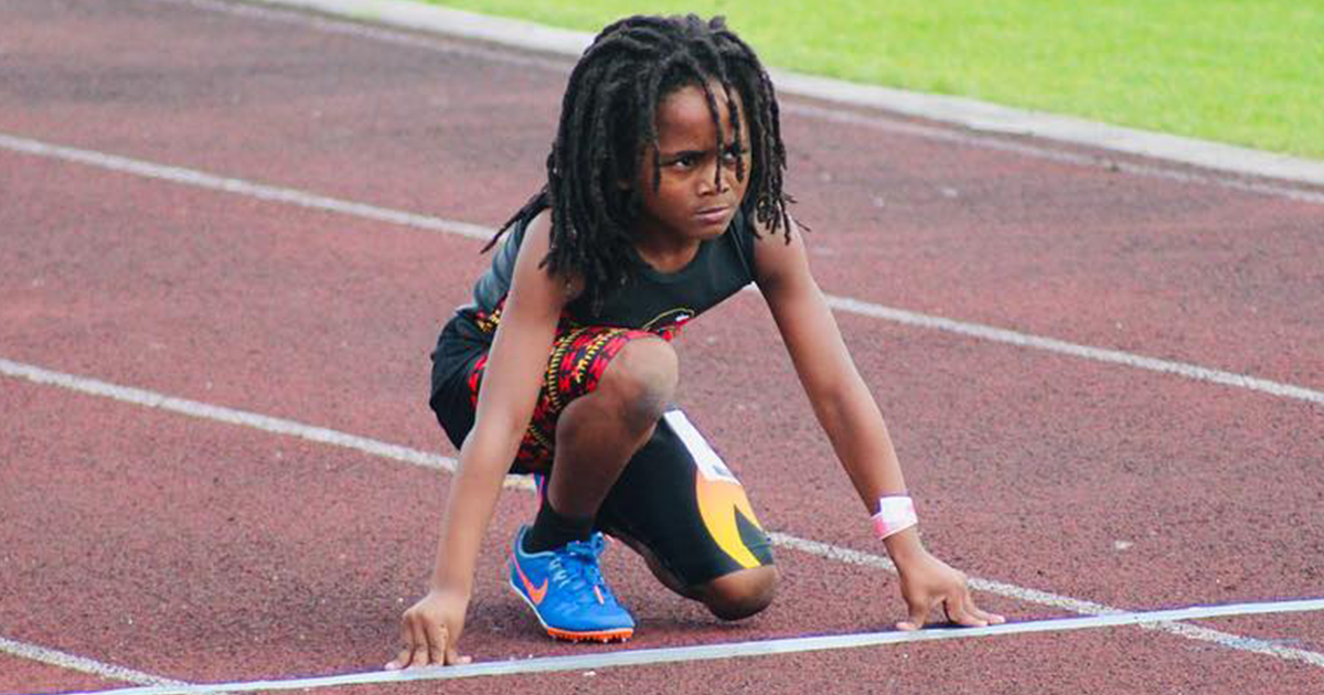 """Seven-Year-Old Sprints 100m In Only 13.48s And Is Now Being Called """"The Next Usain Bolt"""""""