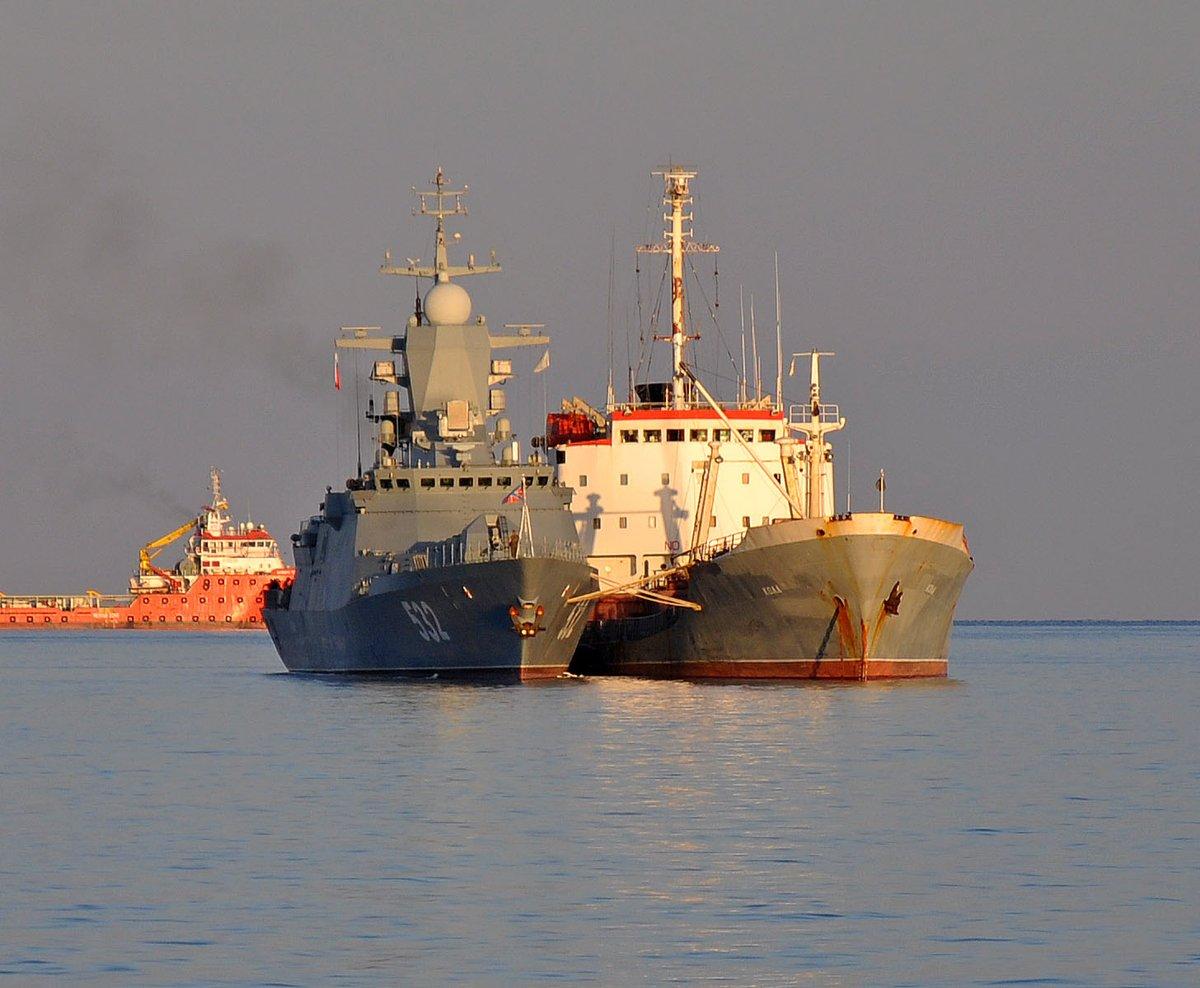 Корветы «Бойкий» и «Сообразительный» прибыли на Кипр