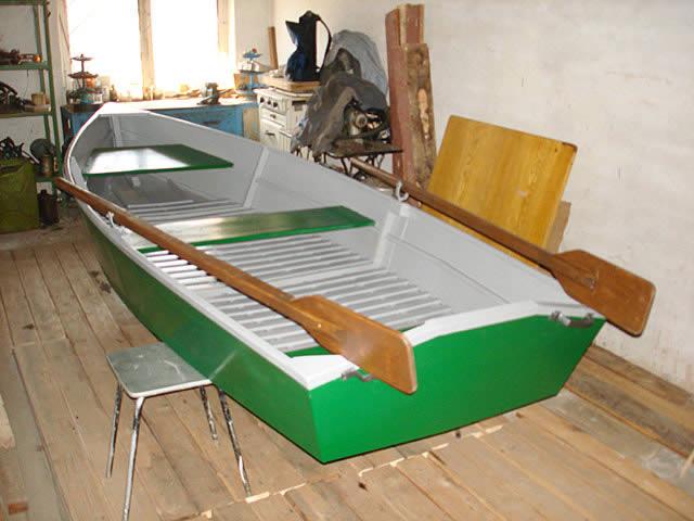 Лодка из листа фанеры