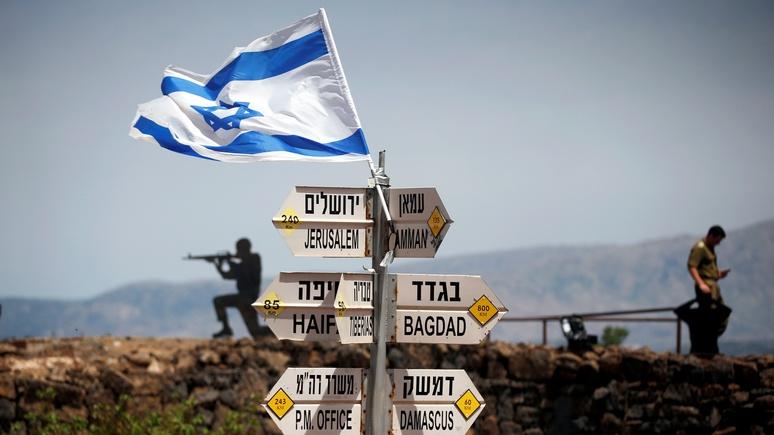 У Израиля на Голанские высот…
