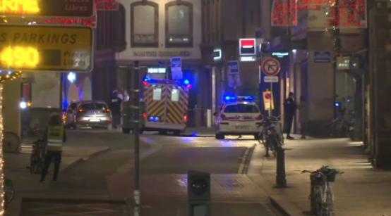 Число погибших в перестрелке в Страсбурге растет