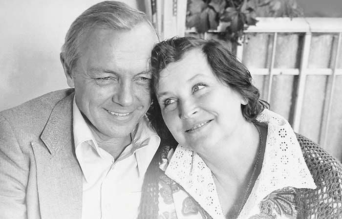 50 лет счастья Кирилла Лаврова и Валентины Николаевой