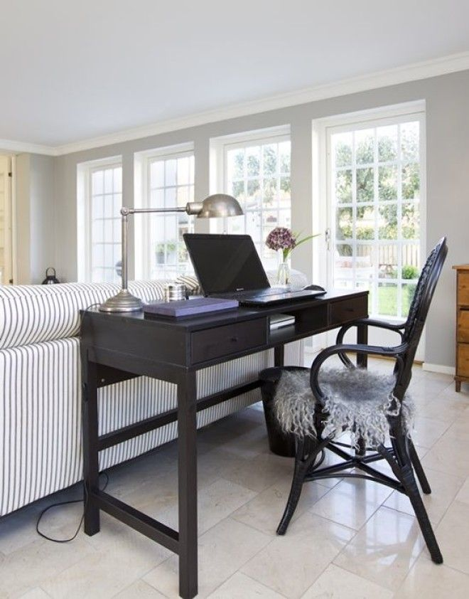 Контрастная мебель как элемент зонирования