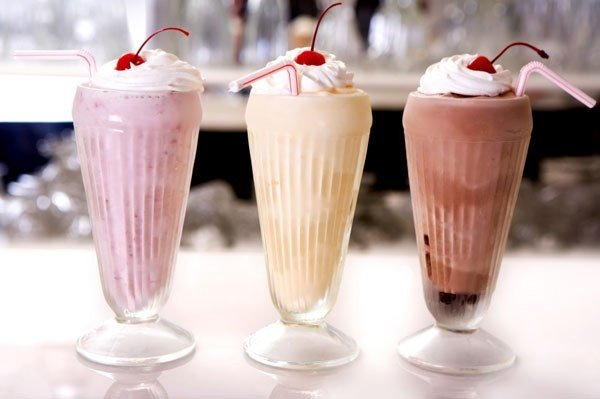 Самые вкусные молочные коктейли