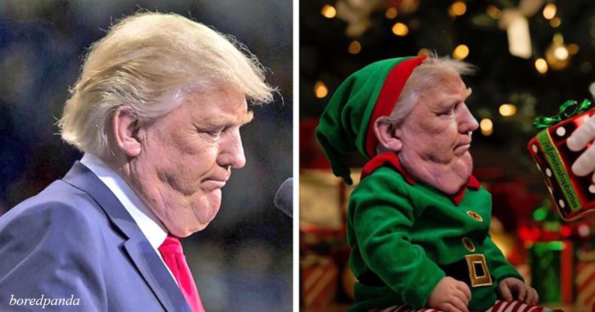 Трамп просил не публиковать это фото. Вот как откликнулись люди...