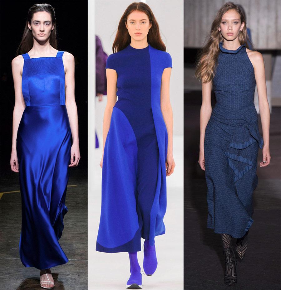Синие платья 2019 для праздников и повседневных образов