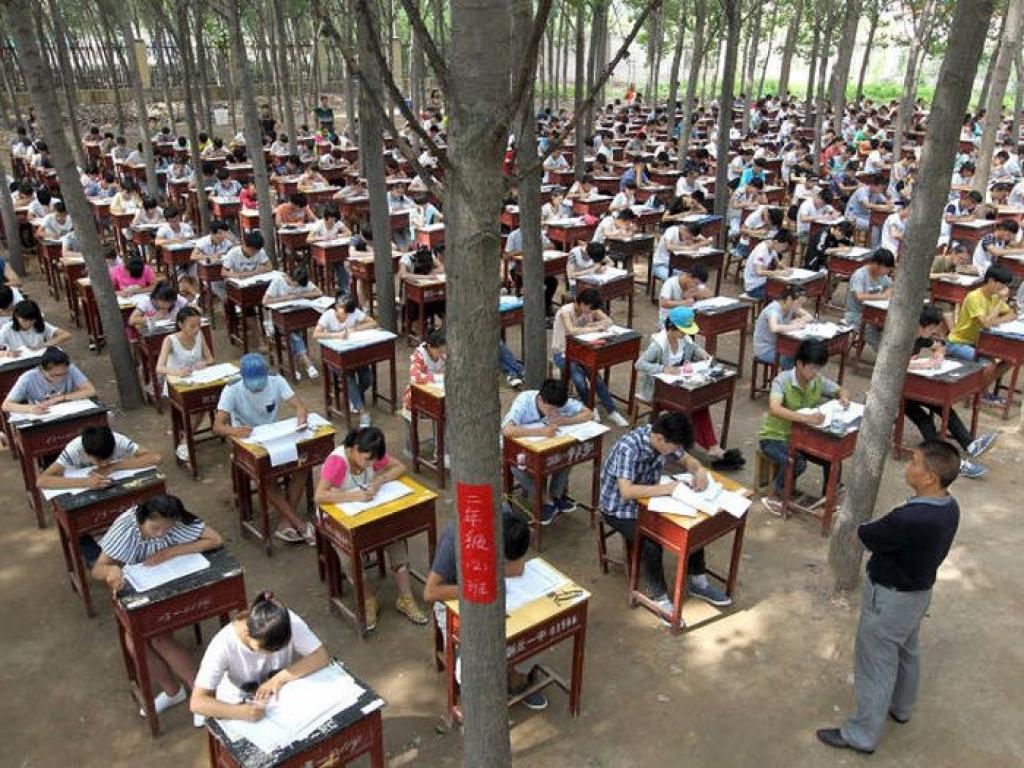 Экзамены по-китайски